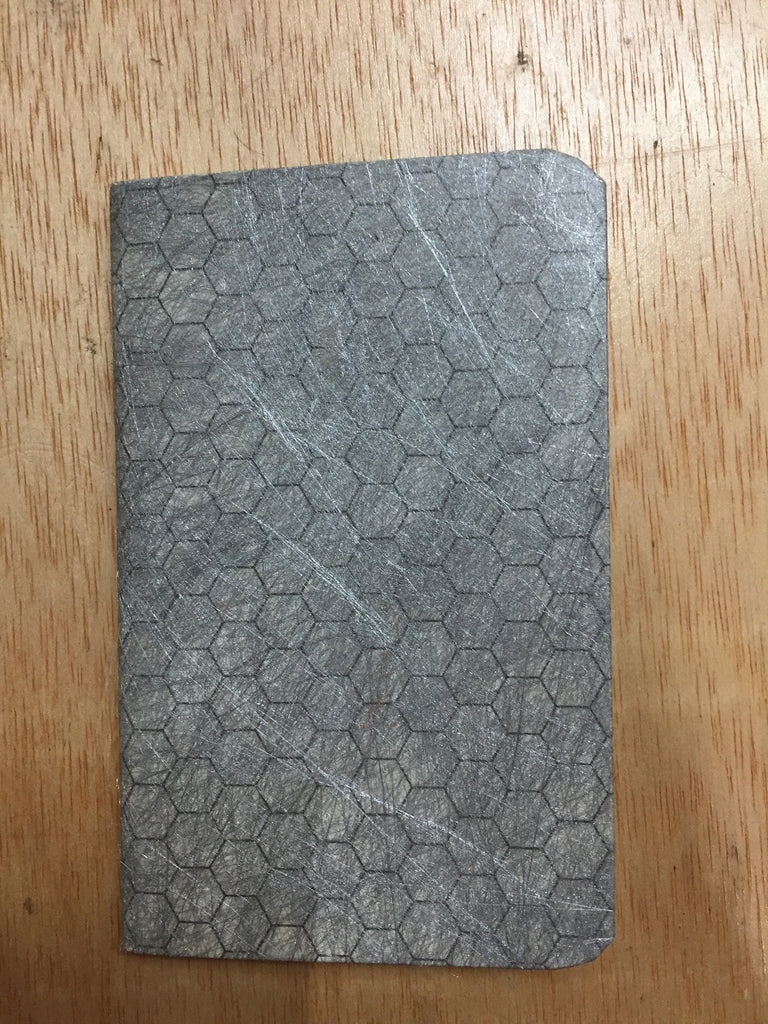 Notebook - honeycomb silver