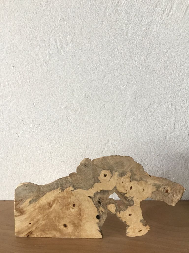 Buckeye Burl Sculpture
