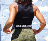 Hold The Standard Crop Tank Top