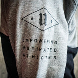 Motivated Only Hoodie (Black / Grey)