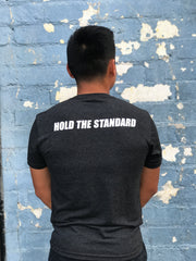 Hold The Standard Tee Black