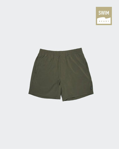 STR/KE MVMNT Key Short Burnt Olive