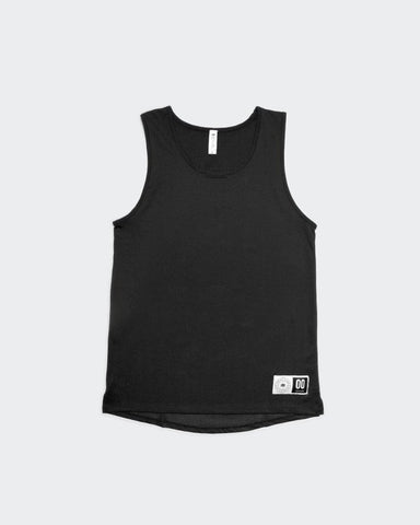 STR/KE MVMNT Session Tank - Chill Mesh Black Phantom