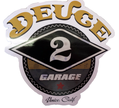 DEUCE Gym Stickers (5-Pack)