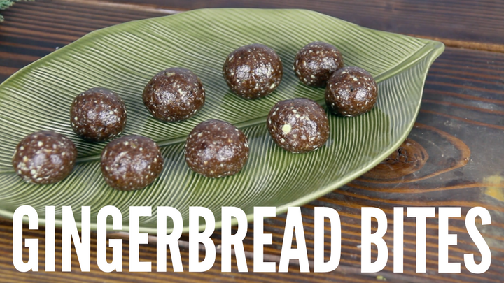 Gingerbread Bites: DeStress & Energize
