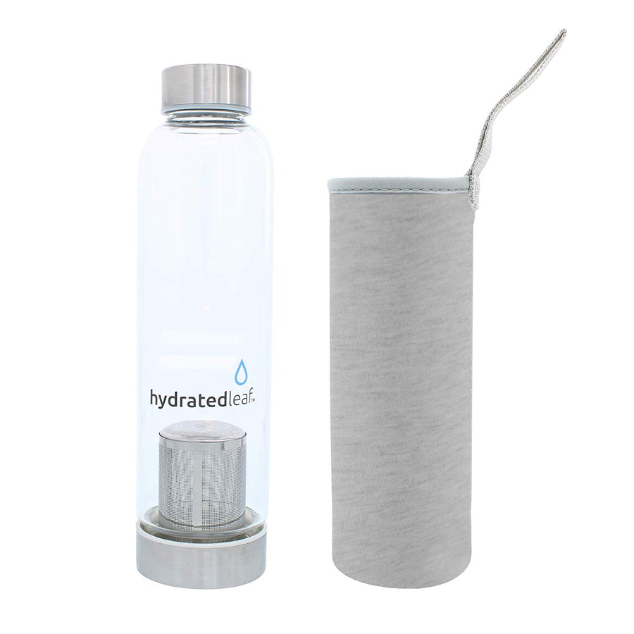 Tea & Fruit Infuser Water Bottle 550ML w/ Sleeve