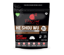 He Shou Wu (Prepared Fo-Ti) 20:1 Extract Powder by VitaJing Herbs