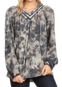 Tie-Dyed Long Sleeve Soft Sweatshirt