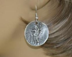 Ancient Scene Turkish Earrings