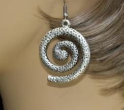 Swirled Turkish Earrings