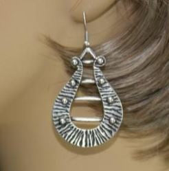 Harp Shaped Turkish Earrings