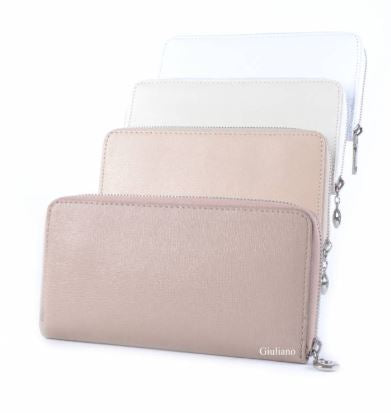 Embossed Italian Leather Wallet