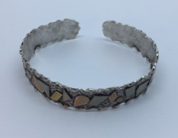 Handcrafted Thin Bangle Bracelet