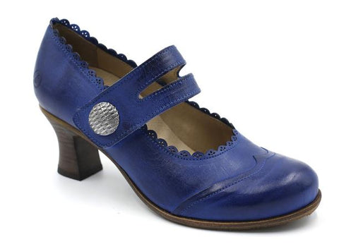 Royal Blue Vintage Design Shoe