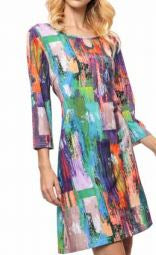 Digitally Printed Knit Tunic