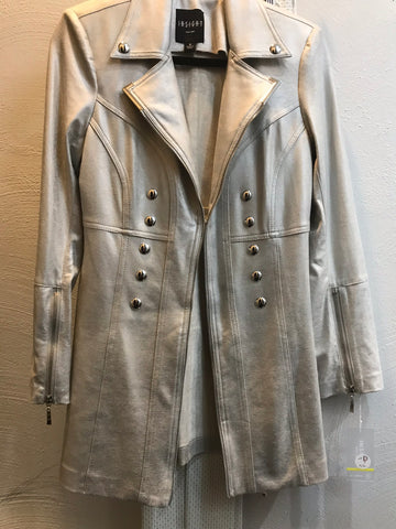 Tunic Liquid Silver Jacket