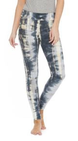 Three-Tone Tie-Dyed Leggings