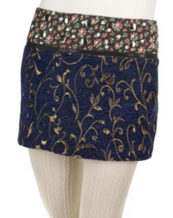 "14"" Jacquard Reversible Skirt  (sizes 0 to 12)"