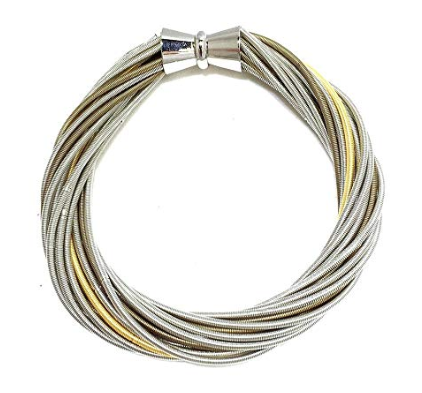 Piano Multi Loop Wire Bracelet