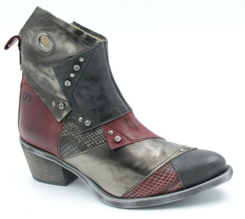 Multi Patchwork Boots