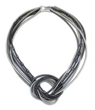 Piano Multi Wire Knot Necklace