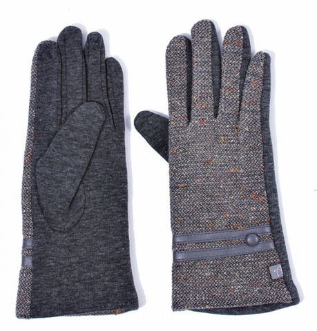Fine Tweed Multi-Fleck Gloves