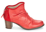 Ruching Design Ankle Boots