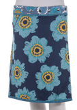 "21-22"" Long Reversible Skirt with pocket (sizes 0 to 12)"