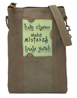 Take Chances Military Tent Crossbody Purse