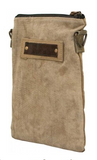VW Beetle Military Tent Crossbody Purse