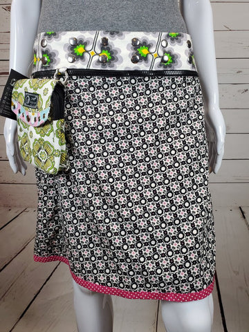 "Reversible 19"" Skirt with Detachable Pouch (sizes 0-12)"