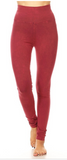 Soft Brushed Straight Leg Yoga Leggings