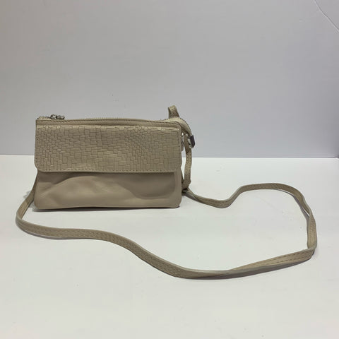 Tri-Pocket Italian Clutch Purse