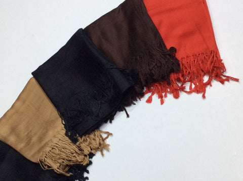 Scarf - Silk / Cotton Cashmere Scarfs