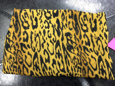 Scarf Round Large Leopard