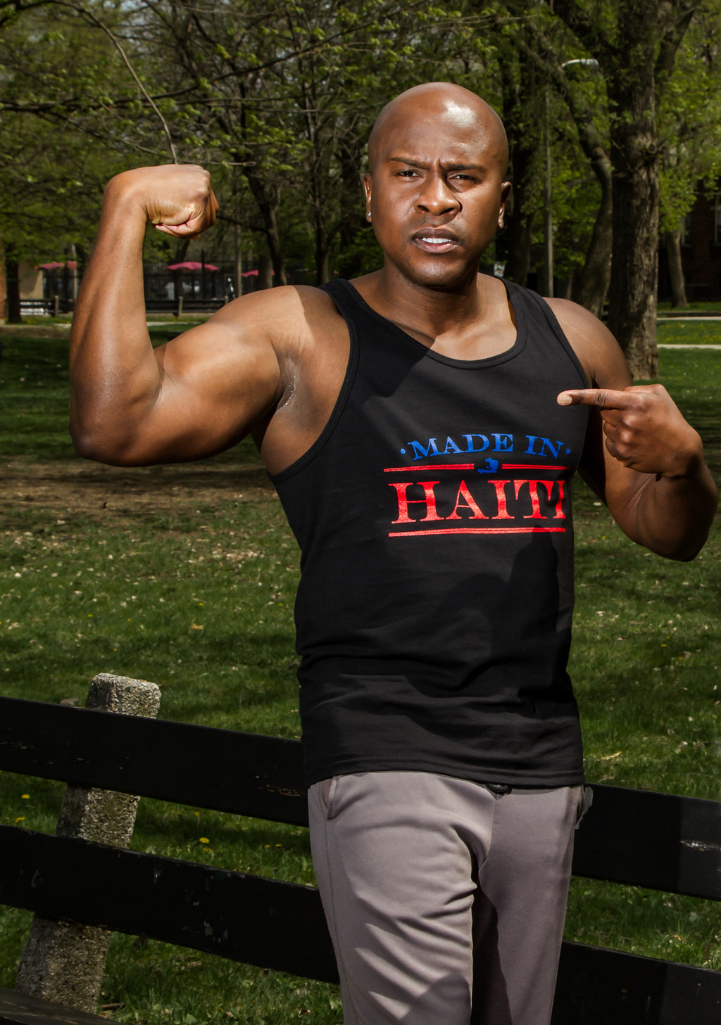 Made In Haiti Men Tanks