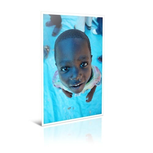 i2believe_little_boy_blue 18 x 24 Bordered Print
