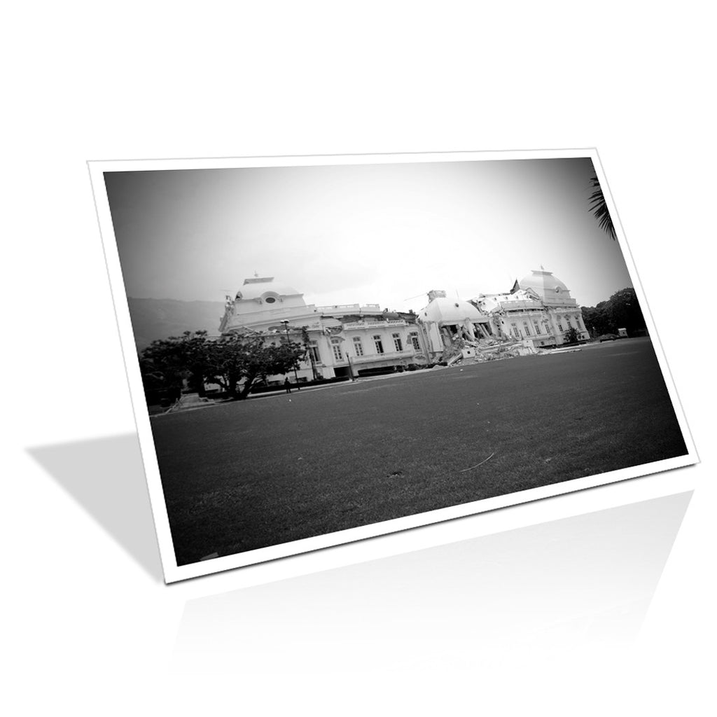 i2believe_national_palais 24 x 18 Bordered Print