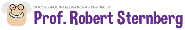 Successful Intelligence as defined by Prof. Robert Sternberg