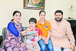 Super kid: 9-year old clears class 10 exams