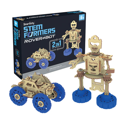 S T E M  Educational DIY Toys, Augmented Reality, Robotics
