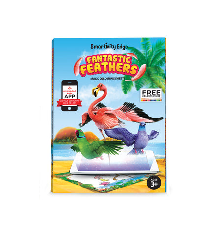 Smartivity Fantastic Feathers AR Colouring Sheets