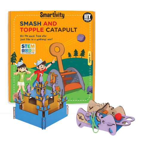Smartivity Smash And Topple Catapult