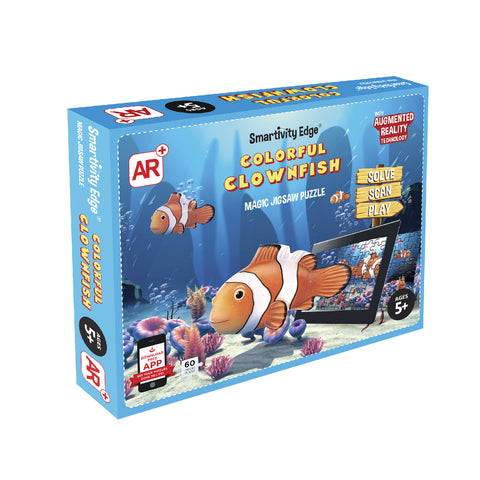 Smartivity Colourful Clownfish Augmented Reality Puzzle