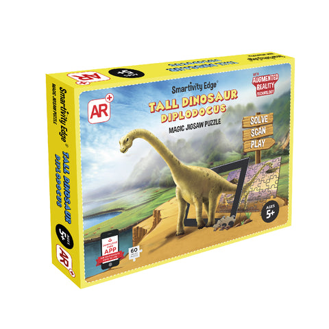 Smartivity Tall Dinosaur Diplodocus Augmented Reality Puzzle