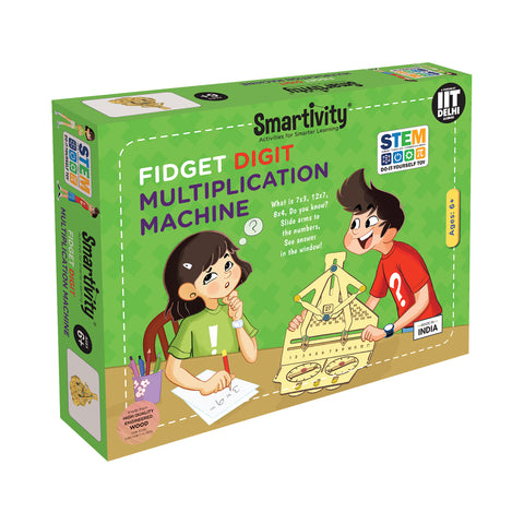 Smartivity Fidgety Digit Multiplication Machine