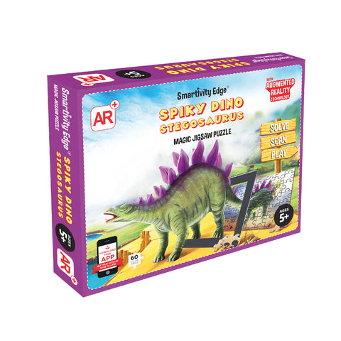 Smartivity Spiky Dino Stegosaurus Augmented Reality Puzzle