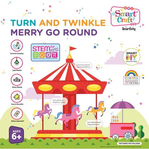 Smartivity Turn and Twinkle Merry Go Round