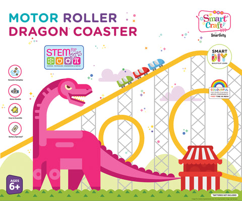 Smartivity Motor Roller Dragon Coaster
