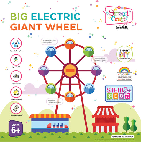 Smartivity Big Electric Giant Wheel